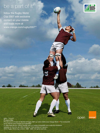agency: marcel/paris  client: orange